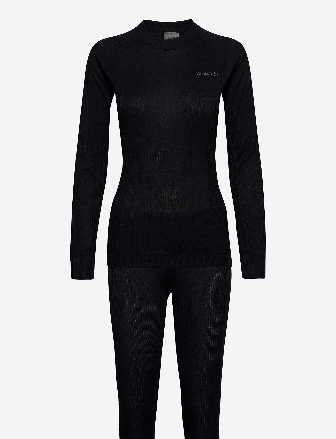 Craft - CORE DRY BASELAYER SET W - thermo ondergoedsets - black - 0