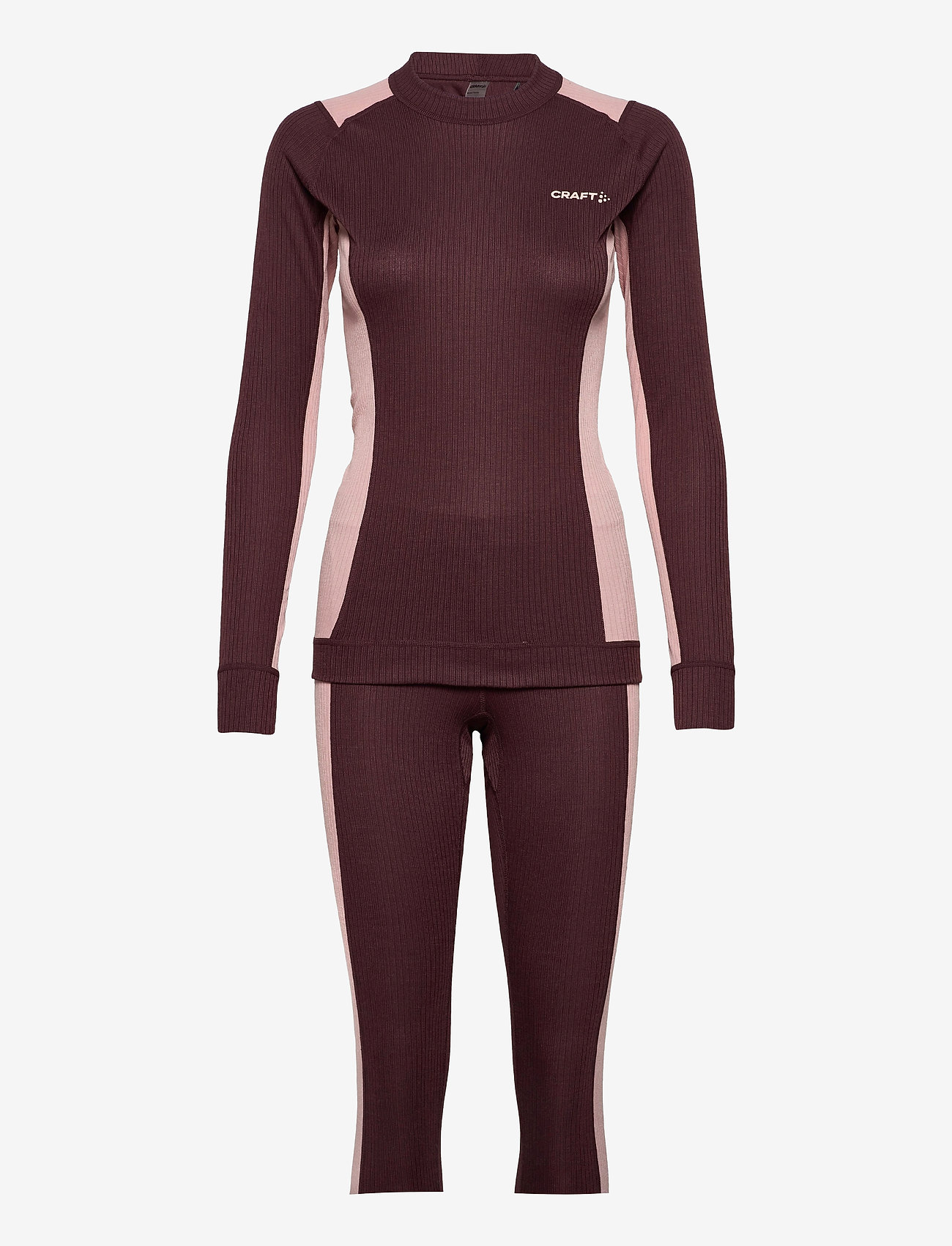 Craft - CORE DRY BASELAYER SET W - thermo ondergoedsets - peak/hint - 0
