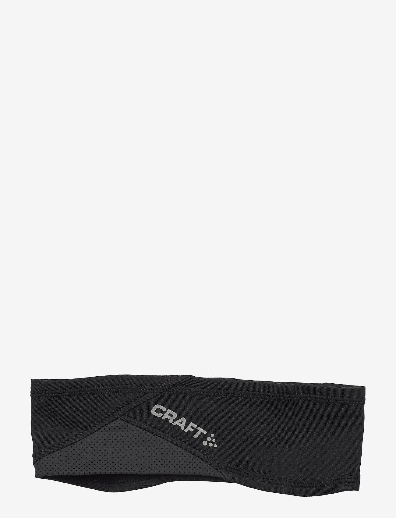 Craft - ADV Lumen Fleece Headband - pannband - black - 0