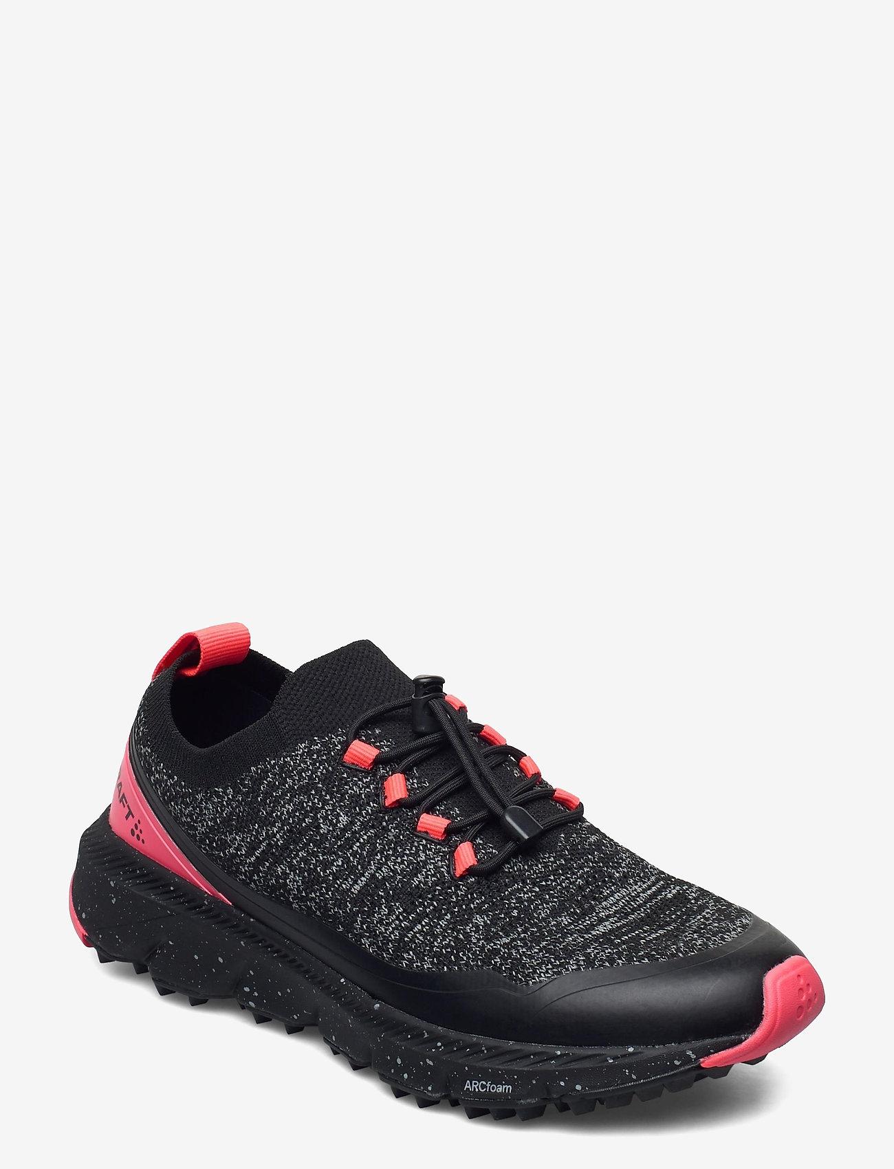 Craft - NORDIC FUSEKNIT W - running shoes - black/crush - 0