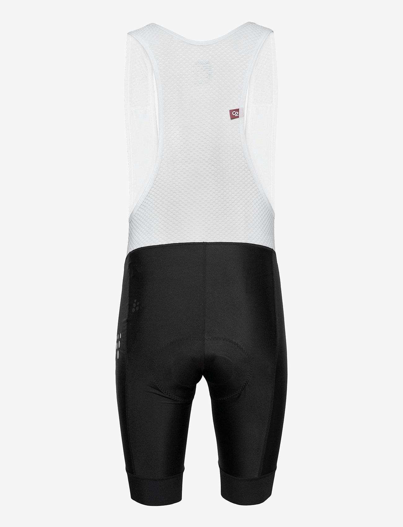 Craft - Adv Endur Bib Shorts M - cycling shorts & tights - black-white - 1