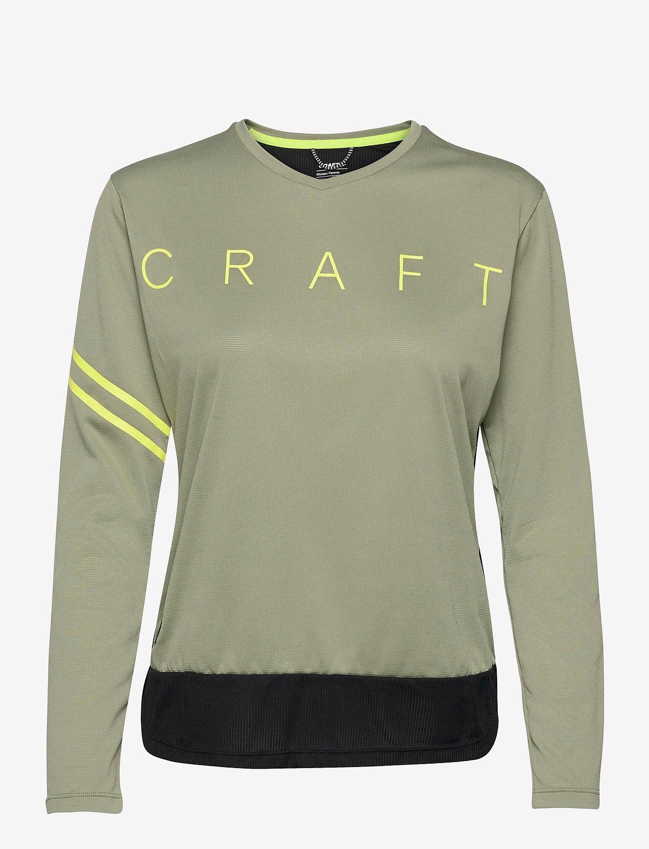Craft - Core Offroad XT LS Jersey W - topjes met lange mouwen - forest-black - 0