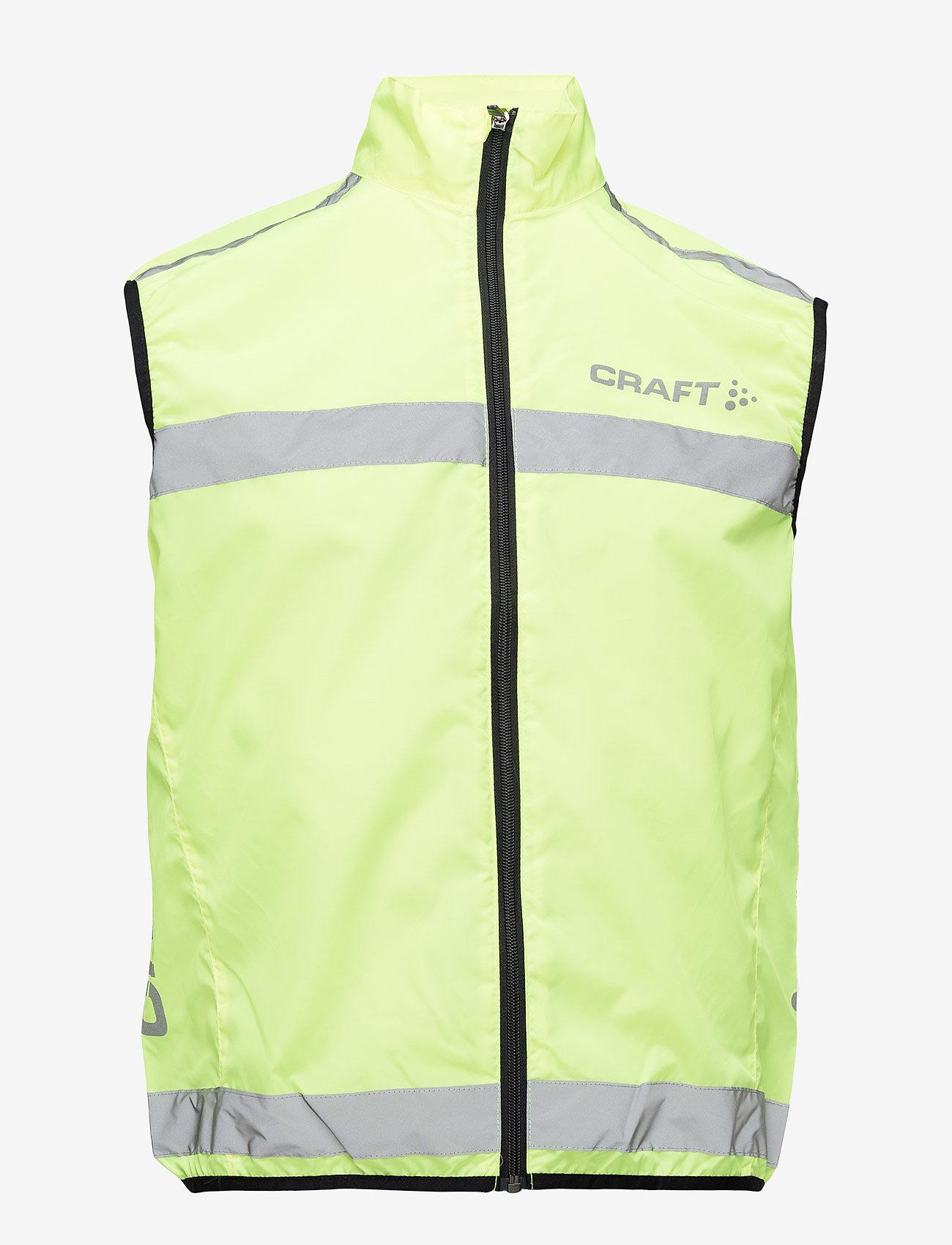 Craft - Active run safety vest U - virsjakas un lietusjakas - neon - 0