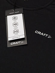 Craft - CRAFT PRIME TEE W VIEW  - t-shirts - black - 2