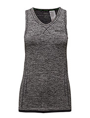 CRAFT AC V-NECK SINGLET W VIEW  - BLACK