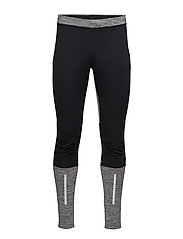 CRAFT COVER WIND TIGHTS M GRAVEL  - BLACK/GREY