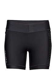 GRIT SHORT TIGHTS W BLACK  - BLACK