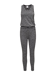 CORE SEAMLESS JOG SUIT  - BLACK