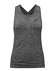 CORE SEAMLESS TANK  - BLACK MéLANGE