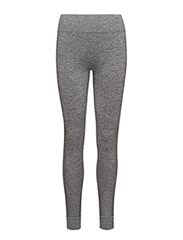 CORE SEAMLESS TIGHTS  - DK GREY MELANGE
