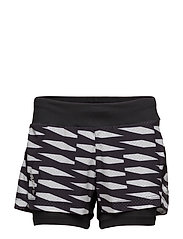 BREAKAWAY 2-IN-1 SHORTS  - P TRELLIS BLACK
