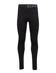 WARM INTENSITY PANTS  - BLACK/GRANITE