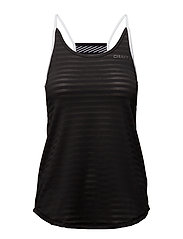 BREAKAWAY SINGLET   - BLACK/WHITE