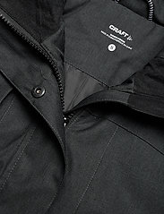 Craft - MOUNTAIN PADDED PARKAS W - parkasjackor - black melange - 5