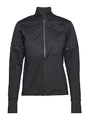 URBAN RUN THERMAL WIND JKT  - BLACK