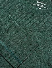 Craft - FUSEKNIT COMFORT RN LS  - thermo ondershirts - pine melange - 2