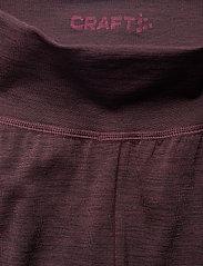 Craft - FUSEKNIT COMFORT PANTS  - underställsbyxor - peak - 2