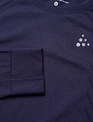 Craft - FUSEKNIT COMFORT RN LS  - långärmade tröjor - maritime - 2