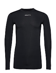 PRO CONTROL COMPRESSION LONG SLEEVE UNISEX - BLACK