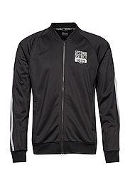 District (wct) jacket M - BLACK