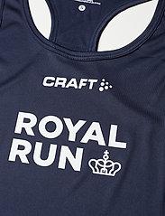Craft - Royal Run Singlet W - tank tops - navy - 2