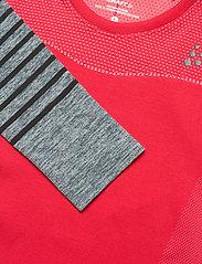 Craft - FUSEKNIT COMFORT BLOCKED RN LS W - thermo ondershirts - beam/dk grey melange - 2