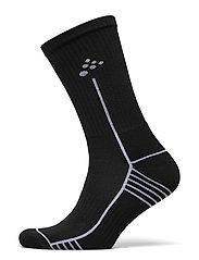 Progress Mid Sock - BLACK