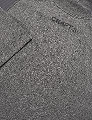 Craft - ADV ESSENCE LS TEE W - bluzki z długim rękawem - dk grey melange - 2