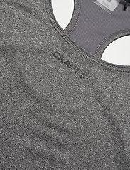 Craft - ADV ESSENCE SINGLET W - tank tops - dk grey melange - 2