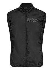 Essence Light Wind Vest M - BLACK