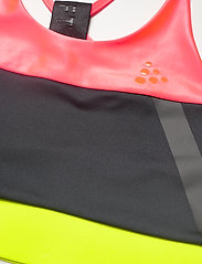Craft - ASOME STRAP TOP - soft bras - panic/black - 2