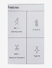 Craft - CORE DRY BASELAYER SET W - thermo ondergoedsets - asphalt/peak - 4