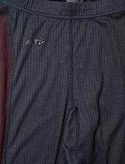 Craft - CORE DRY BASELAYER SET W - thermo ondergoedsets - asphalt/peak - 6