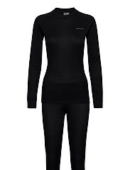 CORE DRY BASELAYER SET W - BLACK