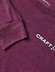 Craft - CORE WOOL MERINO SET W - underställsset - fame melange - 4