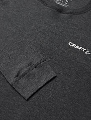 Craft - CORE WOOL MERINO SET M - base layer sets - black melange - 3