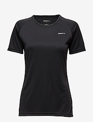 Craft - CRAFT PRIME TEE W VIEW  - t-shirts - black - 0