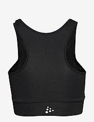 Craft - RUSH TOP W - sport-bh: medium - black - 2