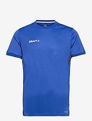 Craft - Pro Control Impact SS Tee M - t-shirts - cobolt/navy - 0
