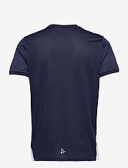 Craft - Pro Control Impact SS Tee M - t-shirts - navy/white - 1