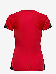 Craft - Pro Control Impact SS Tee W - t-shirts - red/black - 1