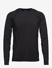 Craft - ADV ESSENCE LS TEE M - langarmshirts - black - 0