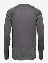 Craft - ADV ESSENCE LS TEE M - langarmshirts - dk grey melange - 1