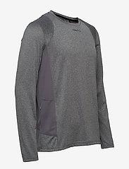 Craft - ADV ESSENCE LS TEE M - langarmshirts - dk grey melange - 3