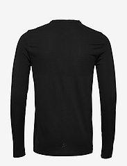 Craft - FUSEKNIT LIGHT RN LS M - bluzki z długim rękawem - black - 1