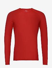 Craft - PRO DRY NANOWEIGHT LS M - longsleeved tops - bright red - 0