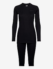Craft - CORE WARM BASELAYER SET W - thermo ondergoedsets - black - 0