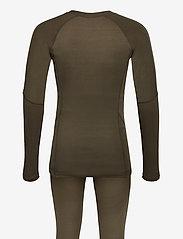 Craft - CORE WARM BASELAYER SET M - thermo ondergoedsets - dark olive - 1