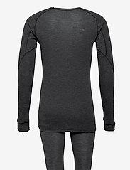 Craft - CORE WOOL MERINO SET M - base layer sets - black melange - 1
