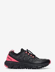 Craft - NORDIC FUSEKNIT W - running shoes - black/crush - 1